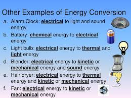 Light Energy To Mechanical Energy Energy Conversions Unit Ppt Download