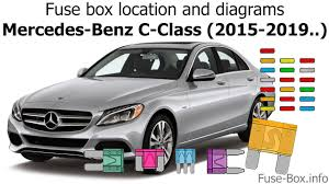 Mercedes Benz C300 Fuse Chart Fuse Box Location And Diagrams Mercedes Benz C Class 2015