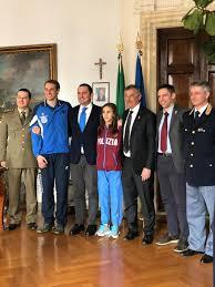 Federazione Arrampicata Sportiva Italiana - Il ministro dello Sport  Vincenzo Spadafora incontra la FASI