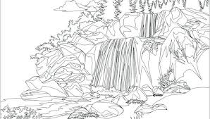 Free Printable Nature Coloring Pages For Adults Natural Disaster