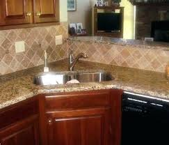 Tile Backsplashes With Granite Countertops Inspiration Santa Cecilia Granite Backsplash Russellscott