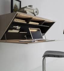 Molteni & C SEGRETO secretary desk wall shelf