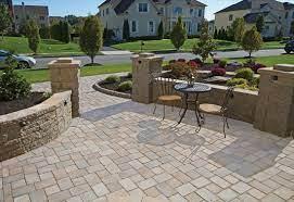 pavers patio design contractor company