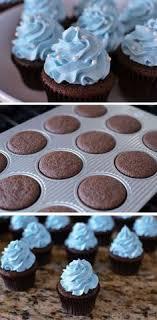 blue ercream cakes 21 diy baby shower party ideas for boys that will make you go goo goo