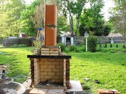 image of diy outdoor fireplace image of diy outdoor fireplace plans free