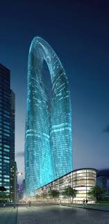Visions of the Future: Guangzhou Twin Towers (West Tower), Guangzhou, China  by MAD Architects :: height proposal