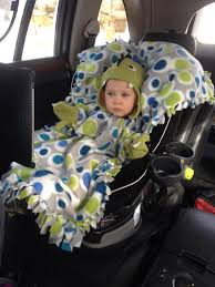 baby car seat blanket cover pattern