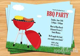 Barbeque Invitation Invitation Ideas Barbeque Party Invitations