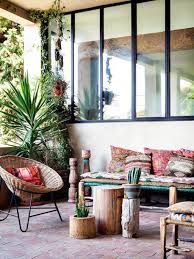 Outdoor: Boho Chic Porch Design - Bohemian Porch