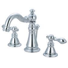 kingston brass faucet. Contemporary Brass Kingston Brass Georgian Chrome 2Handle Widespread Bathroom Sink Faucet And