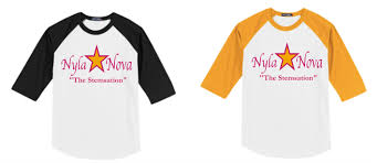 Nyla Nova Youth T Shirt Nyla Denae