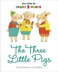 the three little pigs story plays