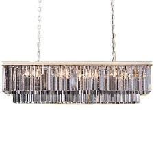 outdoor breathtaking odeon glass fringe rectangular chandelier 27 61kwchxjetl sl1000 breathtaking odeon glass fringe rectangular chandelier