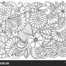 Small Picture Nice Relaxation Coloring Pages Abstract Adult Coloring Page