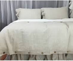 duvet covers pleasant linen duvet cover natural with wooden ons custom size queen king nz