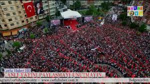 Çorlu Haber - Cumhurbaşkanı Adayı Muharrem İnce...