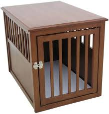 Designer Dog Crate End Tables look great in your home