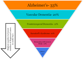 Types Of Dementia Chart The Dementia Umbrella Spring Chicken