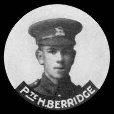 Private Herbert Joyce Berridge | Rutland Remembers
