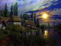 47 лучших изображений доски «Домики»   Домики, Картины ...