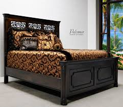 mediterranean style bedroom furniture. Tuscan Style Bed With High Headboard Rustic Mediterranean Bedroom Furniture Beds A
