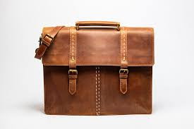 travel leather briefcase