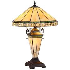 Ophelia Tiffany Style 16 Inch 1 Light Geometric Table Lamp Online Shopping Bedding Furniture Electronics Jewelry