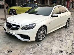 The e63 models are now the amg e63 sedan and wagon. Z Art For Amg Body Kit For Mercedes Benz E Class 2014 2016 Pp Tuning Body Kits For Mercedes Benz W212 Free Shipping W212 Body Kit Tuning Mercedesamg Body Kits Aliexpress