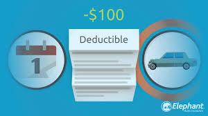 diminishing deductible explained elephant auto insurance