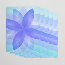 Paper Lotus Flower Abstract Lotus Flower G303 Wrapping Paper By Medusa81