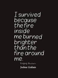 Fire Quotes Magnificent The Fire Inside Me Quote