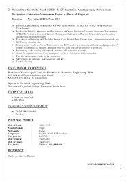 Resume For Maintenance Windenergyinvesting Com