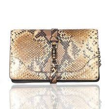 gucci clutch. gucci 2015 gold brown python jackie clutch on chain s