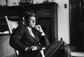 jfk years in office. John F. Kennedy In His Senate Office 1959. (Photo Source: Jfk Years H