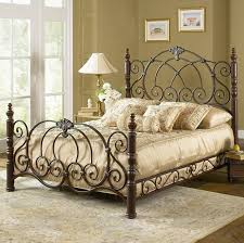 rod iron bed.  Iron Larger Photo Intended Rod Iron Bed O