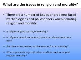 relationship between religion moralit thedrudgereort  relationship between religion moralit