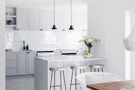 get the hamptons look in your kitchen home beautiful australia