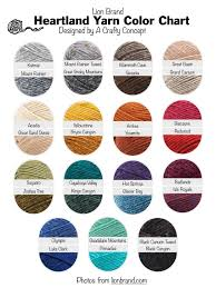 Color Royale Chart Lion Brand Yarn Free Color Charts