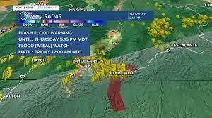 Utah as flash flood warnings issued ...