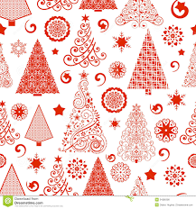 Royalty-Free Stock Photo. Download Seamless Christmas Tree Pattern ...