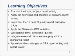 write a report monitoring reports 10 rules of effective report writing trailer