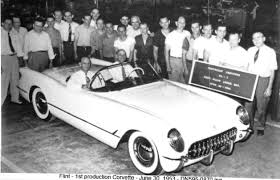 Image result for first corvette built in 1953