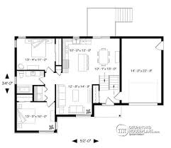 3 bedroom house plans with attached garage. warm one story house plans with attached garage 3 plan w3323 bedroom n