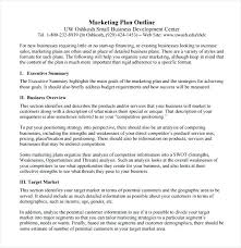 Sample Small Business Plans Marketing Strategy Templates Sample Example Format Pertaining To ...