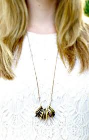 how to diy metal ring necklace