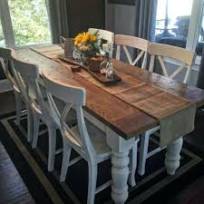 best farmhouse dining table and chairs stylish tables 4 ideas farmhouse dining table chairs and bench