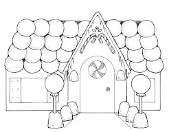 Small Picture Beautiful Gingerbread House Coloring Pages 80 For Your Gallery