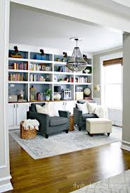Dining Room turned Library. Hmmm... could see this happening! Maybe game