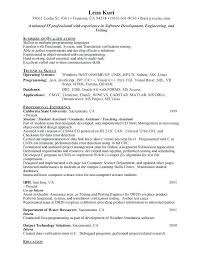 Objective In Resume For Software Engineer Experienced Objective In Resume For Software Engineer Objective Objective Resume