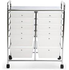 rolling carts for office. Finnhomy 12 Drawer Rolling Cart Organizer,Storage With Drawers, Utility For School Carts Office
